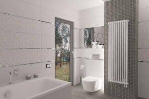 Радиатор Zehnder Charleston в ванной